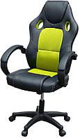 Кресло геймерское компьютерное офисное B-603 зеленое