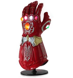 Перчатка Бесконечности Таноса Мстители с подсветкой Infinity Gauntlet Thanos Avengers 34см TN 35