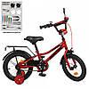 Детский двухколесный велосипед Profi Y12221 Prime (red)