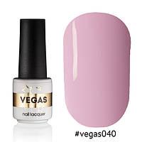 Гель лак №040  Vegas 6 мл