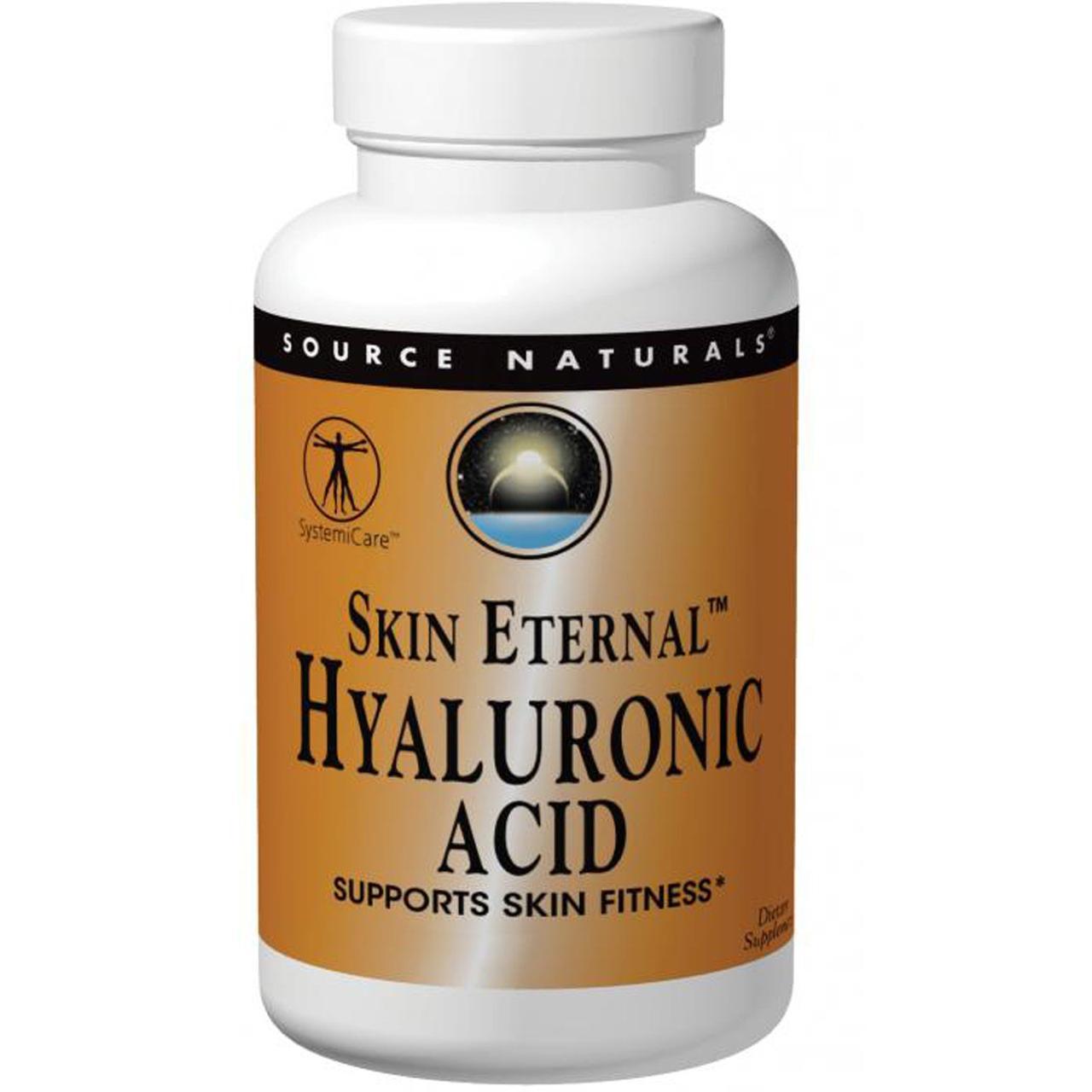 Гиалуроновая кислота Source Naturals 50 мг Теанин Серен Skin Eternal 60 таблеток (SN1625)