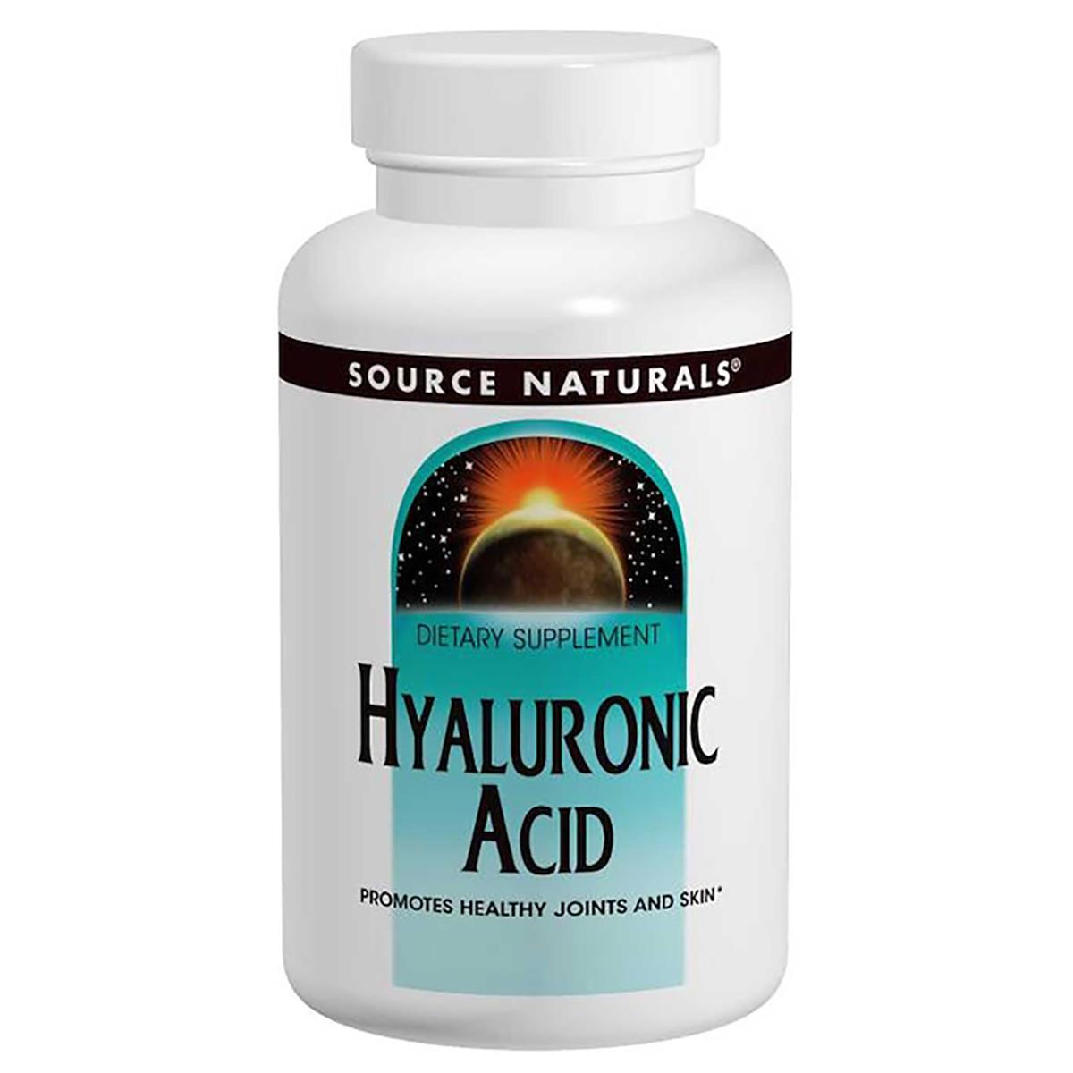 Гиалуроновая кислота Source Naturals 100 мг 30 таблеток (SN1813)
