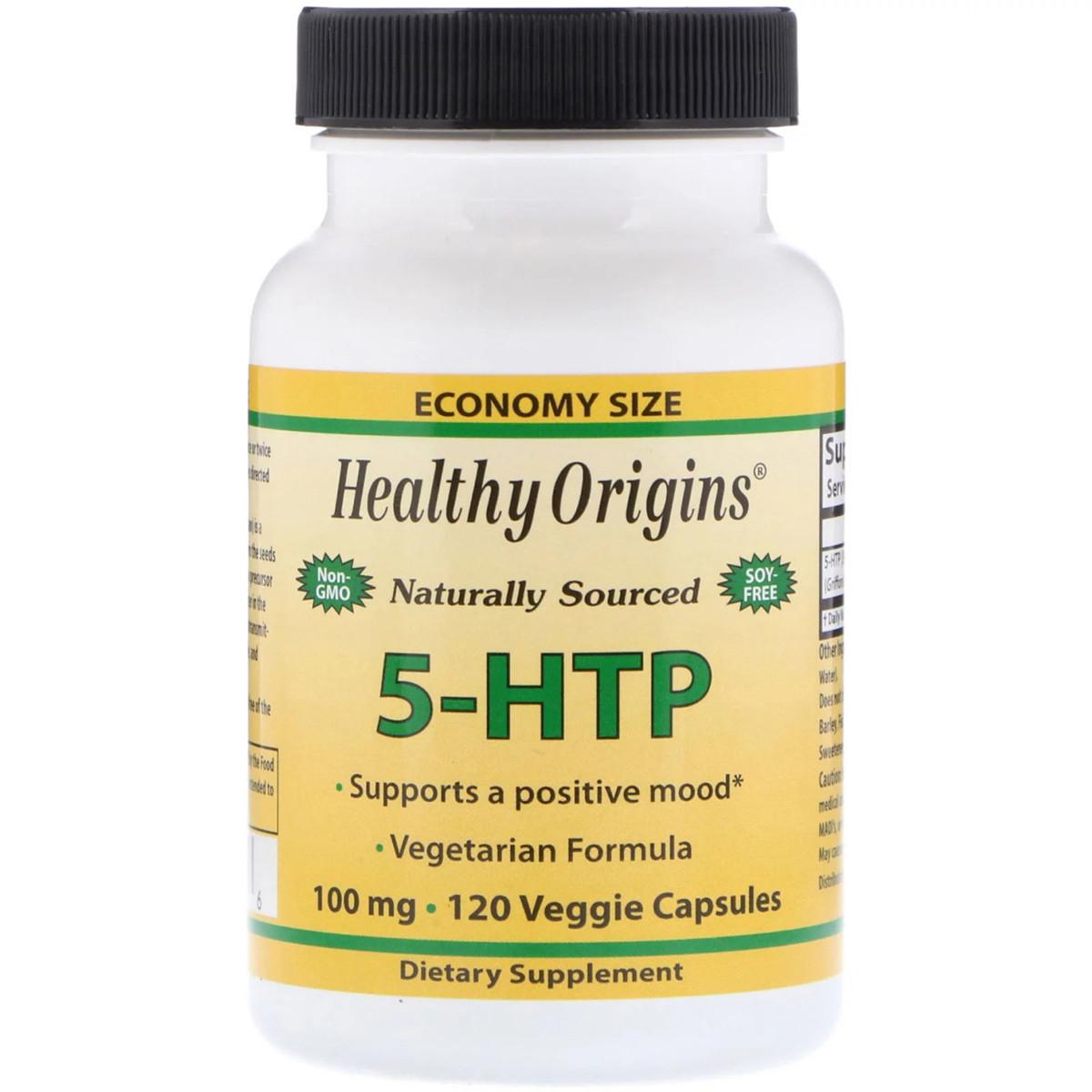 Аминокислота Healthy Origins 5-HTP 100мг 120 гелевых капсул