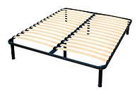 Каркас кровати 190x120 (ламельное основание) 6 НОГ, фото 1