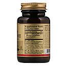 Фолиевая кислота В9 метафолин Solgar Metafolin 400 мкг 100 таблеток (SOL01941), фото 2