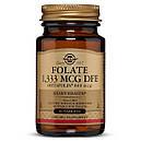 Фолиевая кислота В9 метафолин Solgar Metafolin 800 мкг 100 таблеток (SOL01945), фото 2