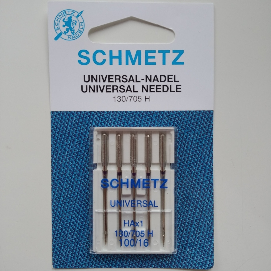 Голки Schmetz Універсальний 100/16 для побутових машин