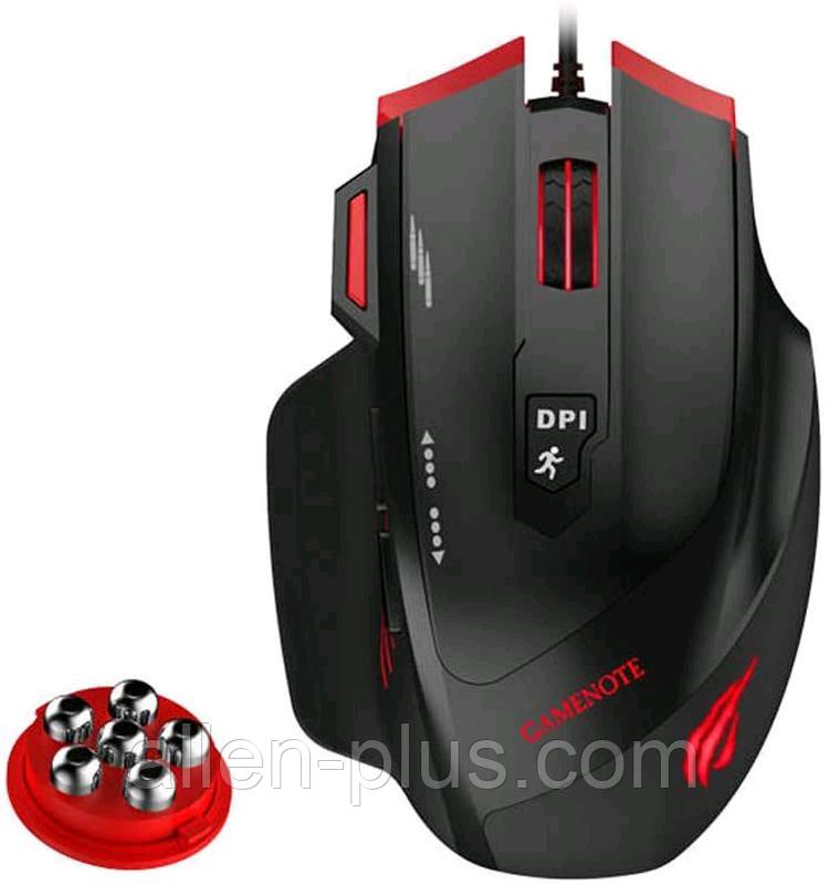 Мышь игровая проводная HAVIT HV-MS1005 (3200 DPI) USB black