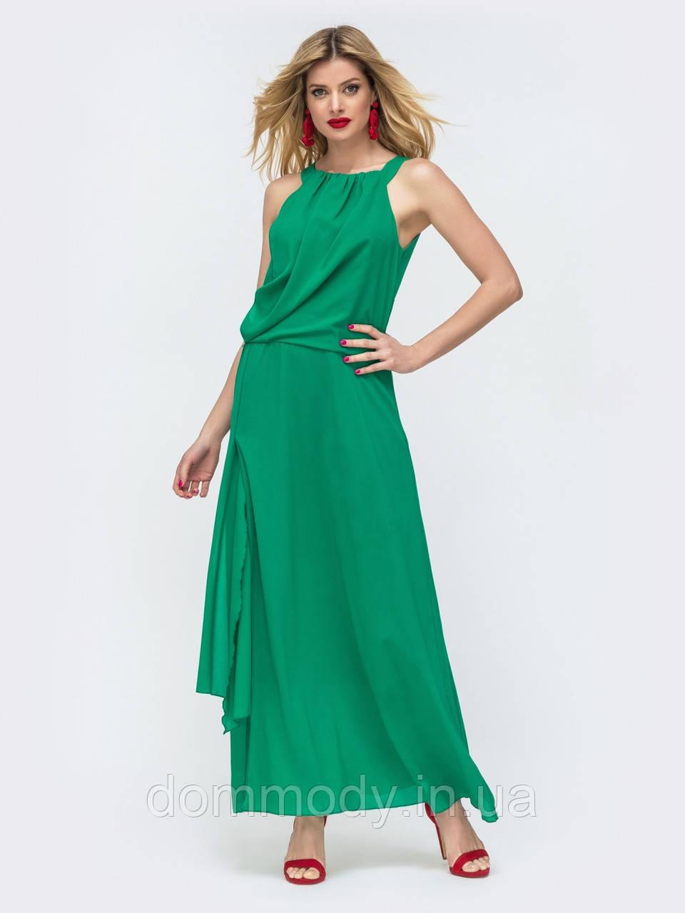 Платье женское Elegy green