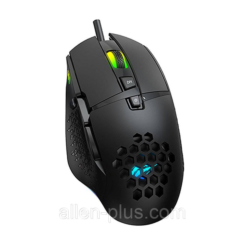 Мышь игровая проводная HAVIT HV-MS1022 (3200 DPI) USB black