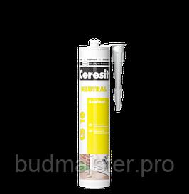 Нейтральний силіконовий герметик Ceresit CS 16 (прозорий), 280 мл