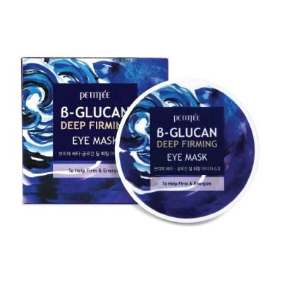 Petitfee B-Glucan Deep Firming Eye Mask Укрепляющие разглаживающие патчи 60шт