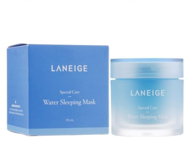 Laneige Water Sleeping Mask - Увлажняющая ночная маска для лица, 70 мл