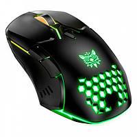 Мышь игровая компьютерная Onikuma CW902 Black с RGB подсветкой, проводная (CW902)