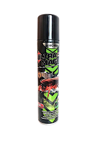 Аэрозоль (Дихлофос) Ультра Магик, 200 мл — без запаха, от тараканов, клопов, мух