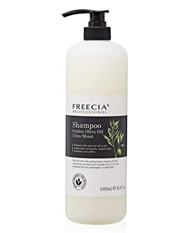 Freecia Golden Olive Ultra-Moist Шампунь интенсивно увлажняющий, 1000 мл