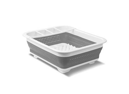 Складна універсальна сушарка для посуду і продуктів HMD (91-8723854), фото 2