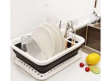 Складна універсальна сушарка для посуду і продуктів HMD (91-8723854), фото 3
