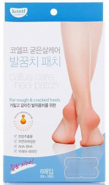 Koelf Патчи для пяток - Koelf Calluse Care Heel Patch