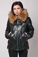 Куртка зимняя  женская батал Visdeer 2145