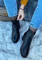 Ботинки женские зимние 6 пар в ящике черного цвета 36-41, фото 3