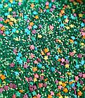 Посыпка кондитерская Микс с Цветочками разноцветная, фото 2
