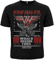 "Футболка Van Halen ""World Invasion Tour 1980"", Размер S"