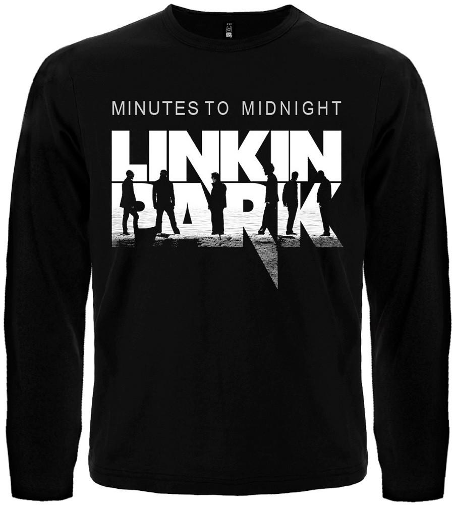 Футболка с длинным рукавом Linkin Park (logo), Размер XS