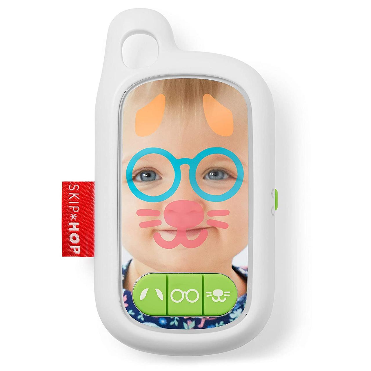 Інтерактивний дитячий телефон з селфікамерою