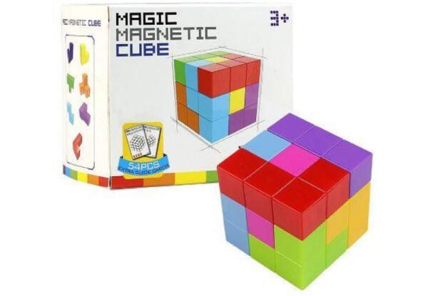 Игрушка головоломка Волшебный магнитный кубик 730B