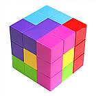 Игрушка головоломка Волшебный магнитный кубик 730B, фото 4