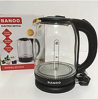 Электрочайник стеклянный Banoo BN2020 Black