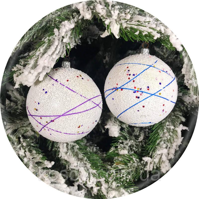 Елочный шар «Звездопад» (100мм)