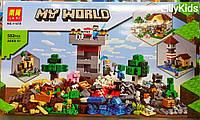 Конструктор Lari Minecraft 11478 Набор для творчества, 582 дет.Майнкрафт