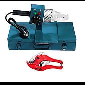 Паяльник для пластиковых труб Vilmas 600-PW-3 с ножницами