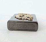 """Зажигалка Zippo стиль """"GOLDEN DRAGON"""" Бензиновая, копия, фото 5"""