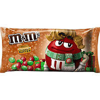 Драже M&M's Holiday Peanut Butter Chocolate Christmas Candy 283.5g