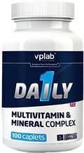 Вітаміни VP LAB DAILY 1 MULTIVITAMIN 100 капсул до 05/20года