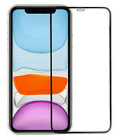 Защитное стекло для iPhone 11 / XR Полноэкранное 3D (Захисне скло на Айфон)