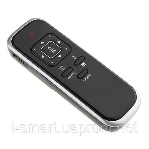 Беспроводной манипулятор 360°Mouse Wireless Presenter 2.4G Black 15M