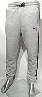 Спортивні штани чоловічі ПУМА з манжетами, розміри S-2XL (2цв)