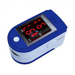 Пульсоксиметр Fingertip Pulse Oximeter на палец,Пульсометр компактный,беспроводной Польша Черный