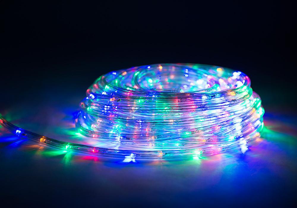 Светодиодная гирлянда Shine Lighting дюралайт 10 метров Multicolor