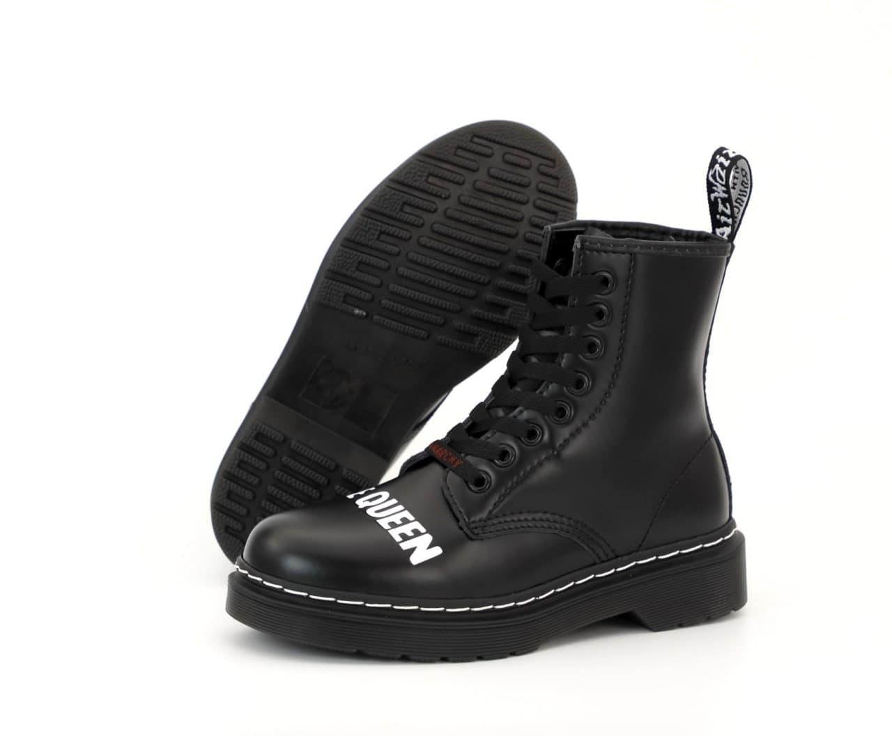 Женские ботинки Sex Pistols & Dr. Martens God Save the Queen 31858 черные