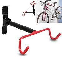 Крепление для велосипеда на стену за раму(складное),подвесной кронштейн, держатель для велосипеда за раму,крюк, фото 1