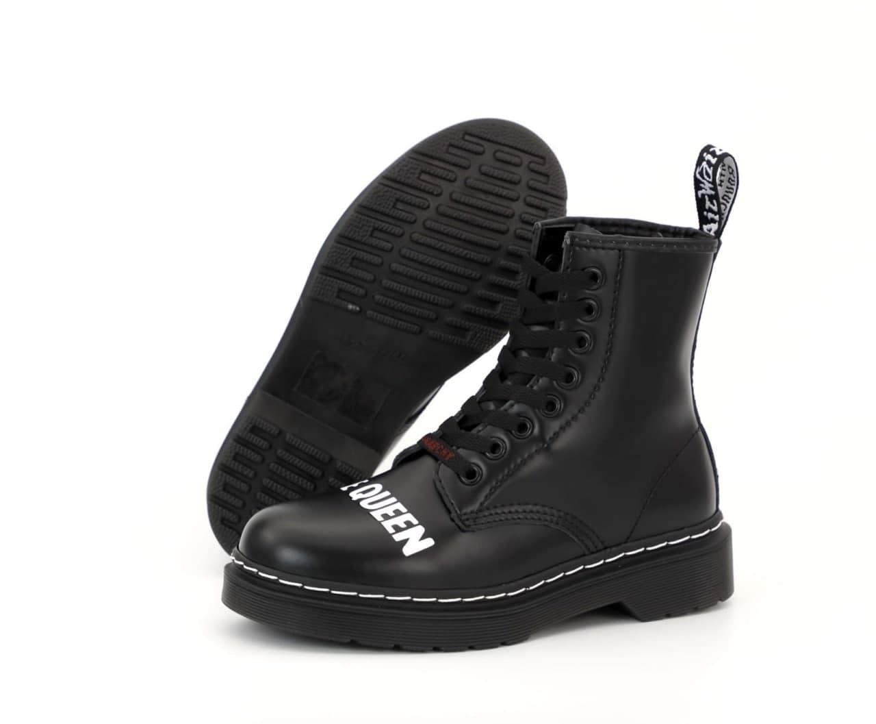 Женские ботинки Sex Pistols & Dr. Martens God Save the Queen 31859 черные