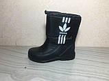 Сапоги ЭВА на подростка, зимние ботинки ПВХ, валенки Alaska, зимняя обувь из пенки, сноубутсы, фото 6