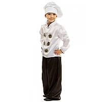 Костюм дитячий карнавальний Кухар на хлопчика 110-134 см (Україна)