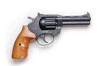 Револьвер под патрон Флобера Safari РФ 441 рукоятка бук