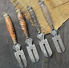 Красиві вилки для зняття шашлику